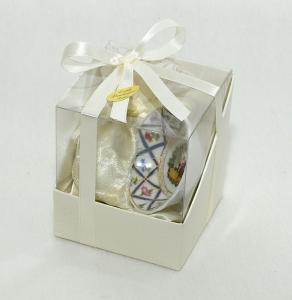 Bomboniera Per Bomboniere Montare/Matrimonio Con Piattino In Porcellana