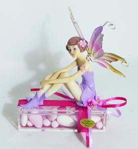 Bomboniera Plexiglass Ballerina Seduta
