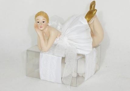 Bomboniera Ballerina Scatola Plexiglass
