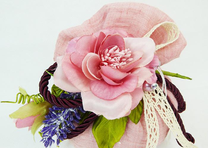 Bomboniera Sacchetto Rosa Grande Pick Fiore Lavanda Wedding