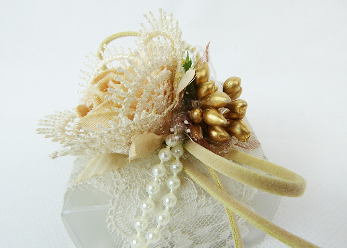 Bomboniera Scatola PVC Opaco Fiore Cotone/macramè Rosa Wedding