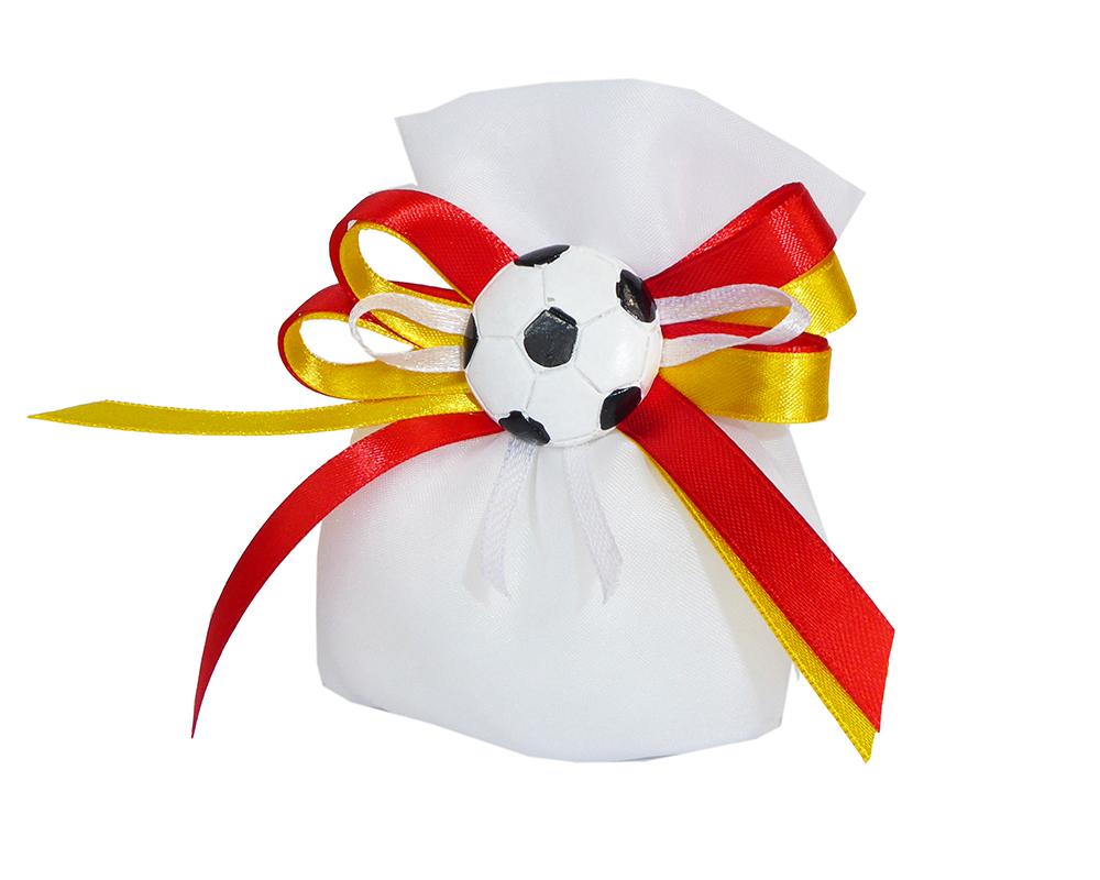 Bomboniera Sacchetto Pallone Squadra Del Cuore Calcio